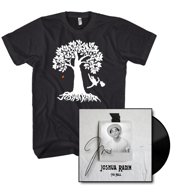 Joshua Radin - The Fall Vinyl & Tee Bundle