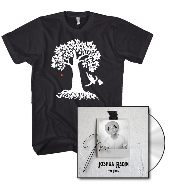 Joshua Radin - The Fall CD & Tee Bundle