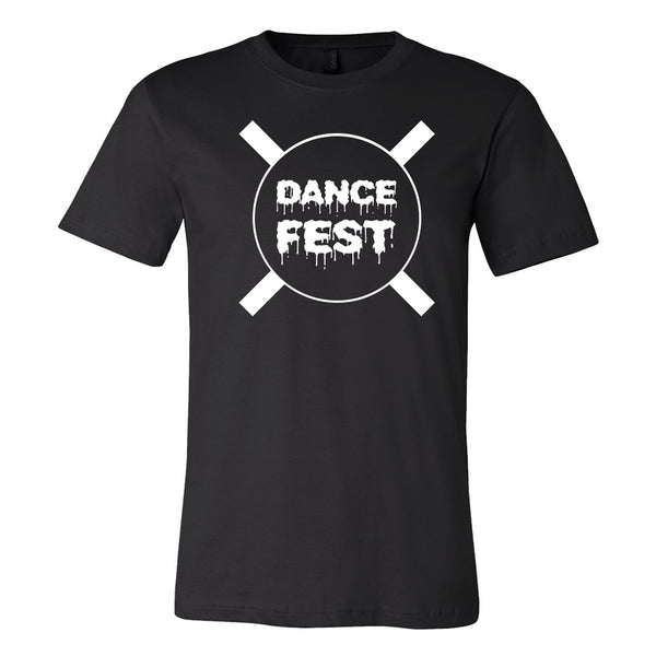 Dancefestopia - DFT Black Cross Tee