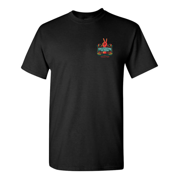 Texas International Pop Festival - Logo Tee (Black)