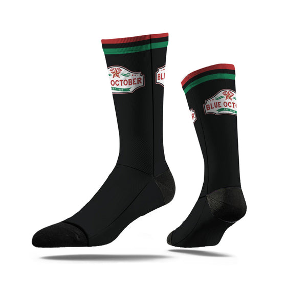 Blue October - Established 1995 Logo Socks