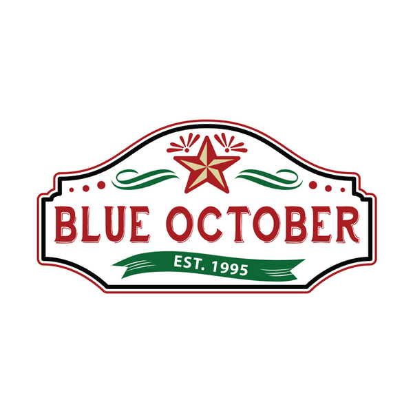 Blue October - Established 1995 Logo Sticker