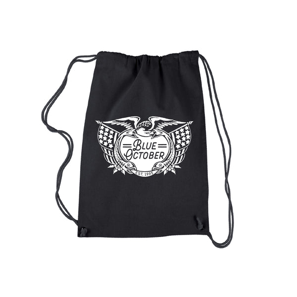 Blue October - Established 1995 Eagle Drawstring Bag