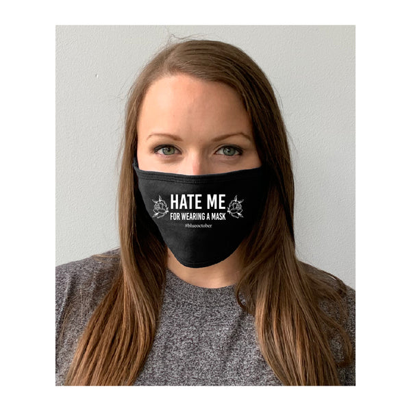 Blue October - Hate Me Face Mask