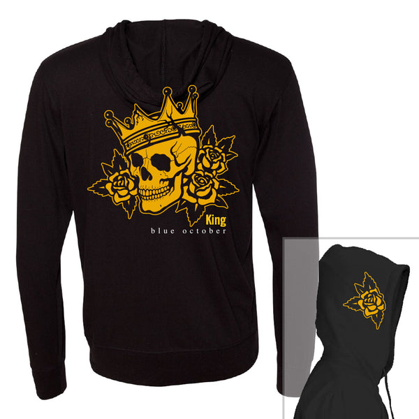 Blue October - King Lightweight Hoodie
