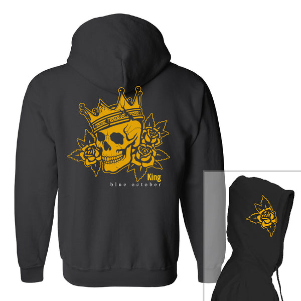 Blue October - King Fleece Hoodie