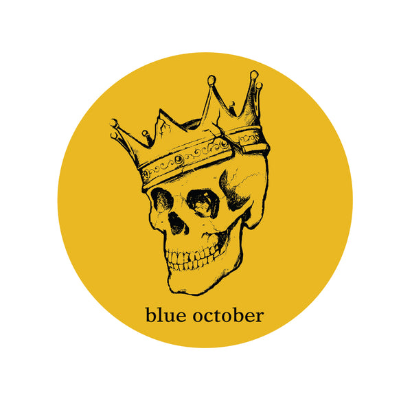 Blue October - King Sticker #1