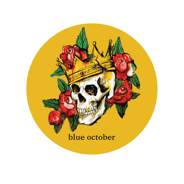 Blue October - King Sticker #2