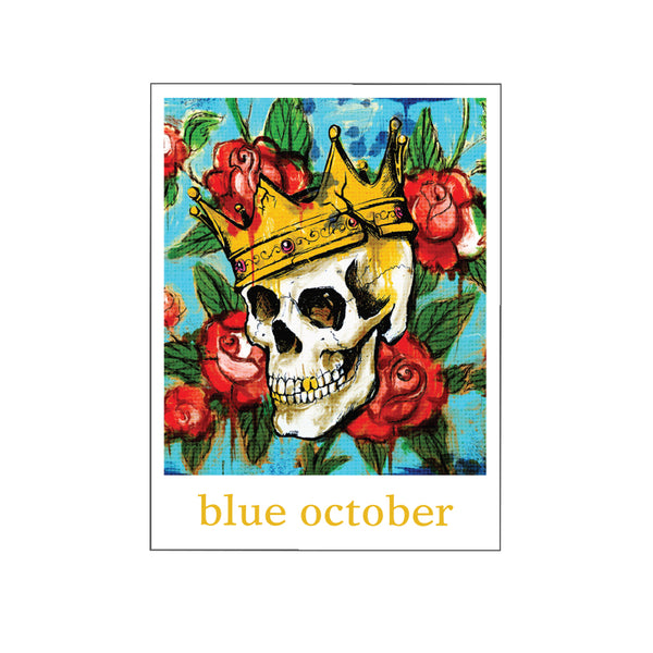Blue October - King Sticker #3