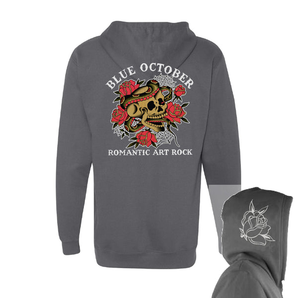 Blue October - Romantic Art Rock Pullover Hoodie