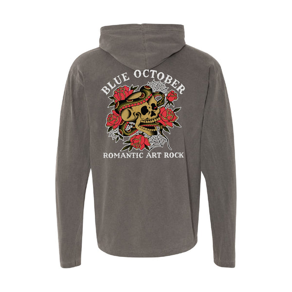 Blue October - Romantic Art Rock Lightweight Pullover Hoodie