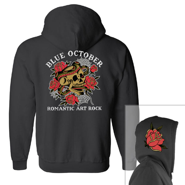 Blue October - Romantic Art Rock Hoodie