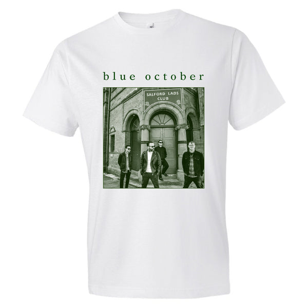 Blue October - Salford Lads 2018 Tour Tee (White)
