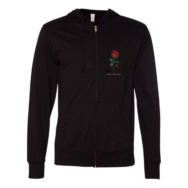 Blue October - Salford Rose Lightweight Hoodie