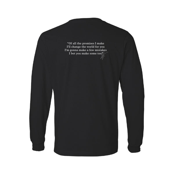 Blue October - Fight For Love Long Sleeve Lyric Tee