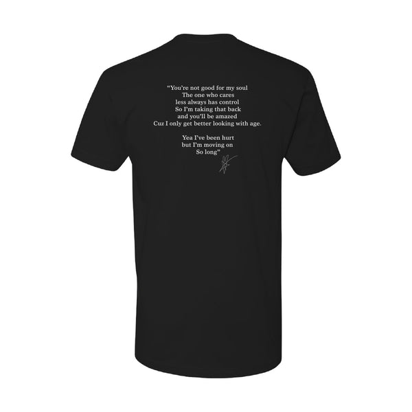 Blue October - Moving On Lyric Tee