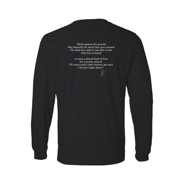 Blue October - Only Lost Is Found Long Sleeve Lyric Tee