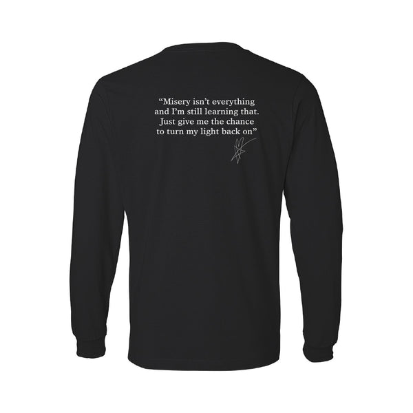 Blue October - Stay With Me Long Sleeve Lyric Tee