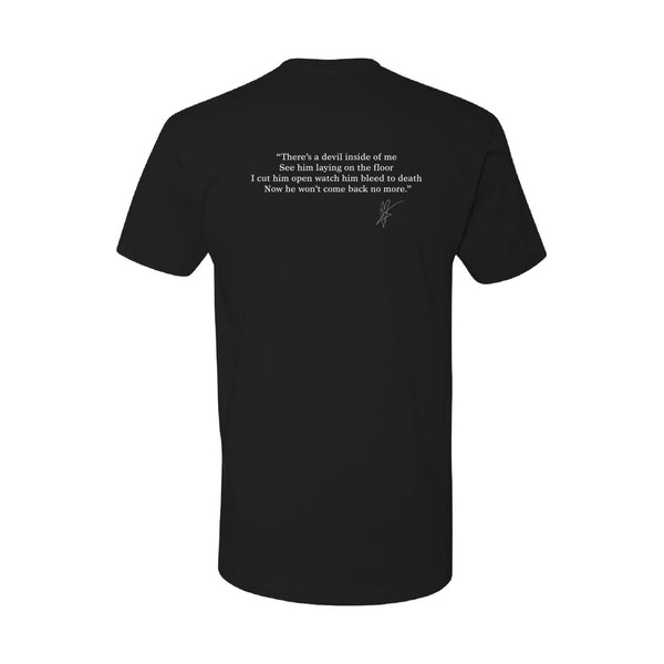 Blue October - Who Do You Run From? Lyric Tee (PRESALE 07/31/20)