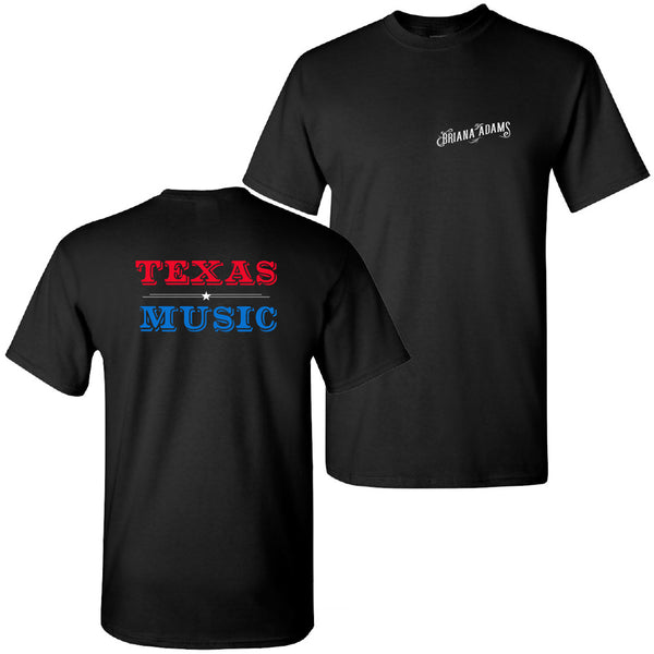 Briana Adams - Texas Music Tee