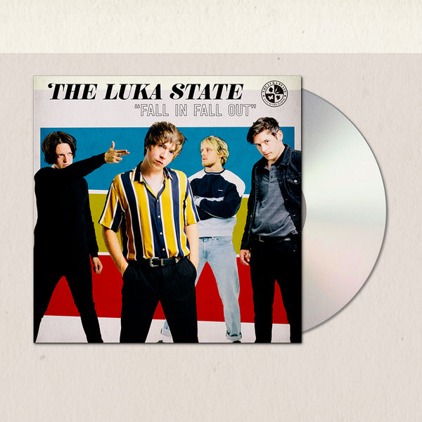 The Luka State - Fall In Fall Out CD (PRESALE 01/29/21)