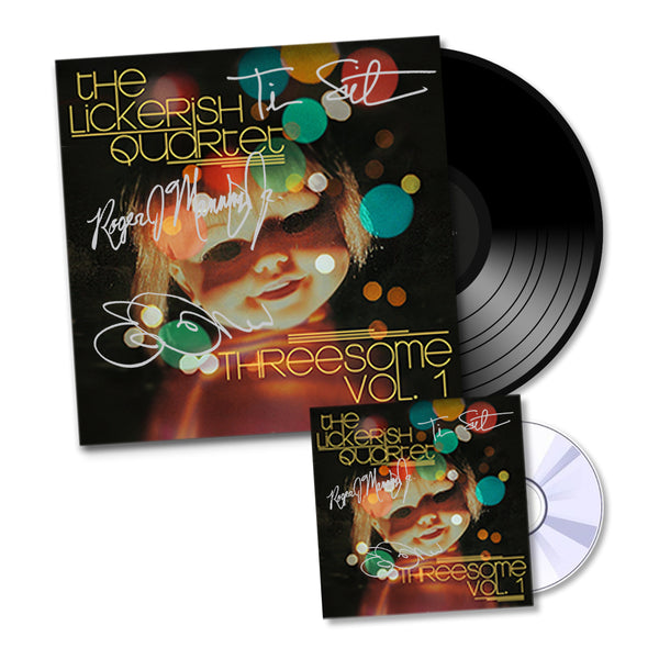 The Lickerish Quartet - Signed CD + Vinyl Bundle