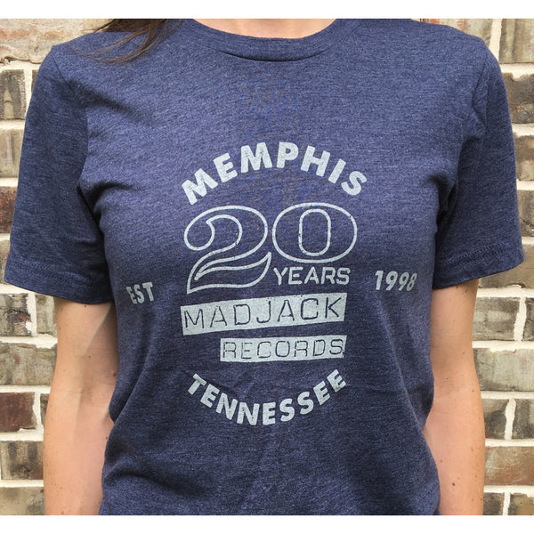 MADJACK Records - 20 Years Tee (Navy)