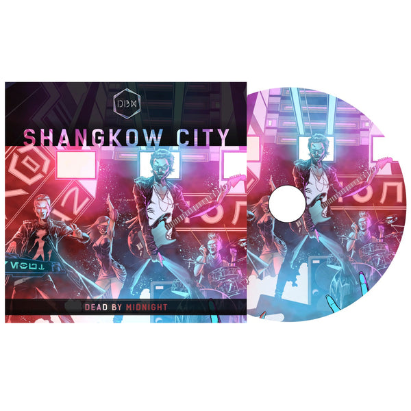 Dead By Midnight - Shangkow City LTD Edition Signed EP (PRESALE 09/01/20)