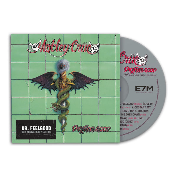 Motley Crue - 30th Anniversary Dr. Feelgood CD
