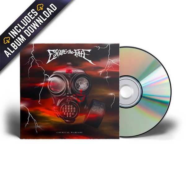 Escape The Fate - Chemical Warfare CD (PRESALE 04/16/21)