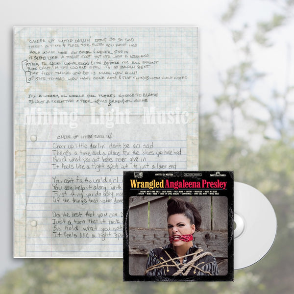 Angaleena Presley - Cheer Up Little Darling CD Bundle