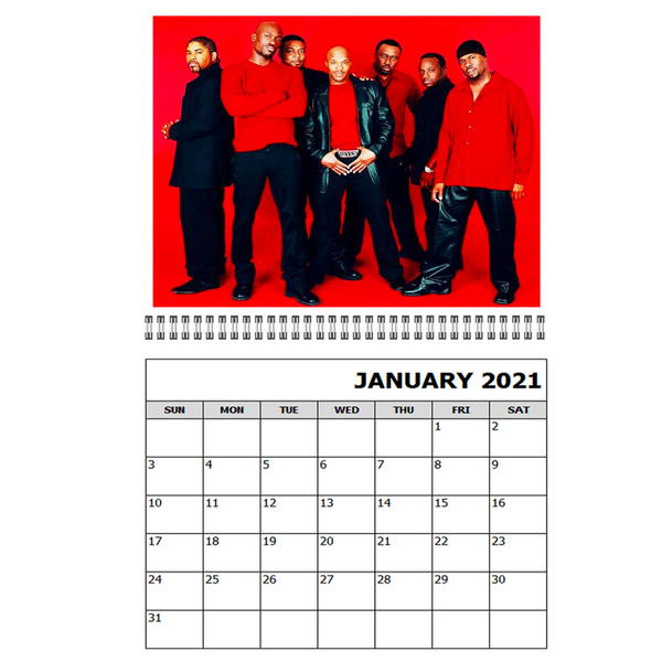 Naturally 7 - 2021 Calendar (PRESALE FEB 2021)
