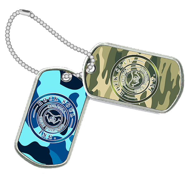 Fantasia - Camo Dog Tag