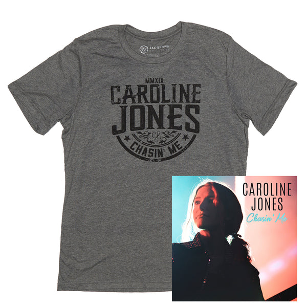 Caroline Jones - Chasin' Me CD + Tee Bundle