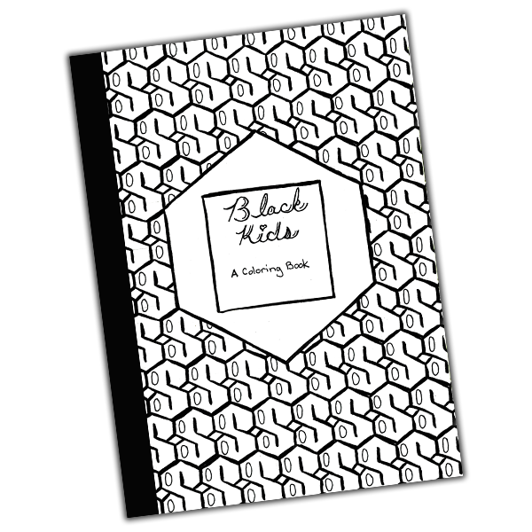 Black Kids - Coloring Book