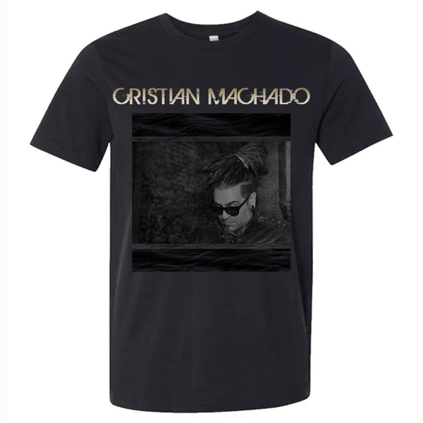 Cristian Machado - T-Shirt 1 (w/CD quality Hollywood y Sycamore download) (PRESALE FALL 2020)