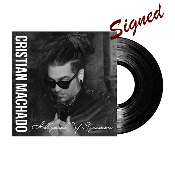 Cristian Machado - Signed Hollywood y Sycamore Vinyl and 44.1 download (PRESALE FALL 2020)