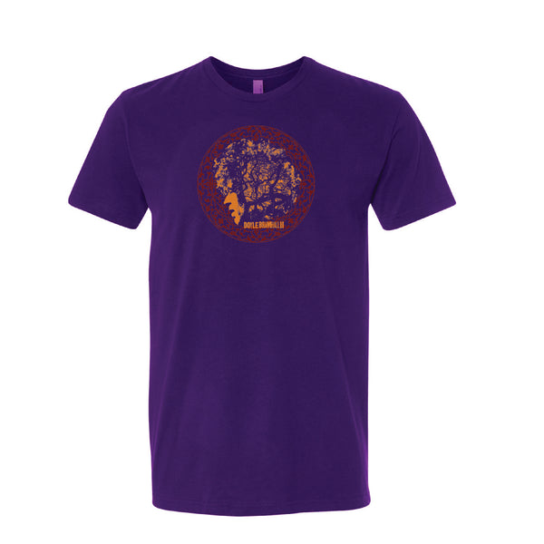 Doyle Bramhall II - Women's Vortex Tee (Purple)