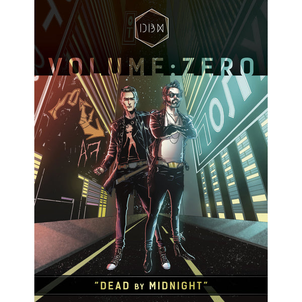 Dead By Midnight - Signed Vol Zero and Vol 1.1 Limited Edition Comic