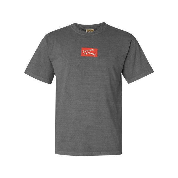 Duncan Fellows - Classic Logo Tee (Grey)
