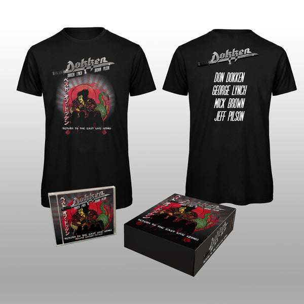 Dokken - Return To The East Live 2016 Collector's Box Set