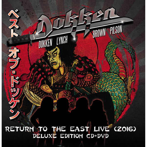 Dokken - Return To The East Live 2016 CD/DVD
