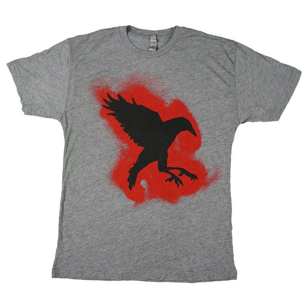 Sister Sparrow & The Dirty Birds - Pound of Dirt Crow Tee (Heather Grey)