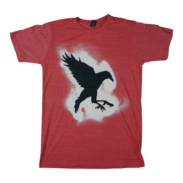 Sister Sparrow & The Dirty Birds - Pound of Dirt Crow Tee (Heather Red)