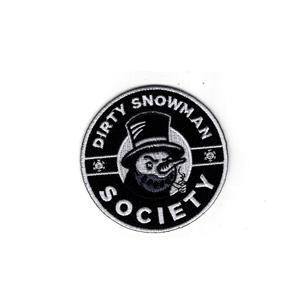 Dirty Snowman Society - Logo Patch