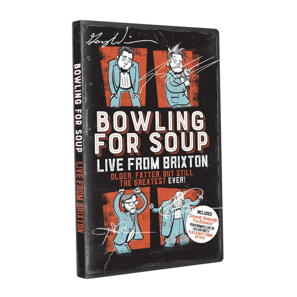 Bowling For Soup - Live From Brixton DVD (Autographed)