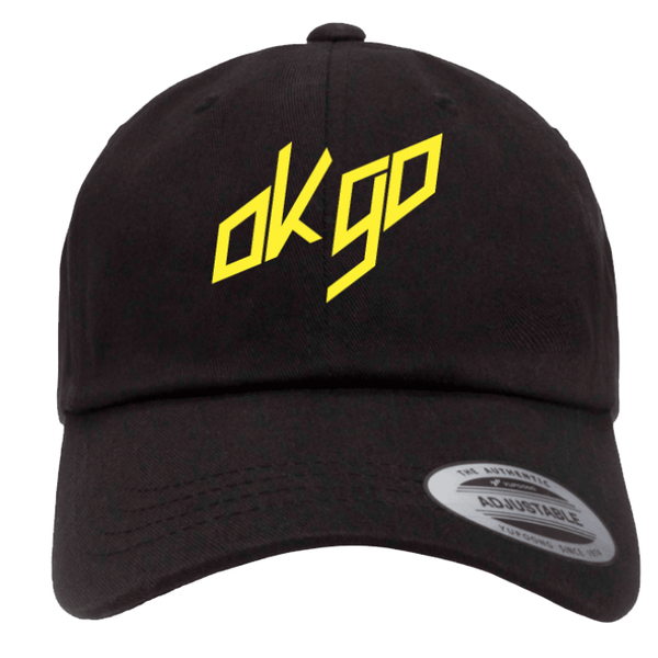 OK Go - Classic Dad Hat - Sagmeister Rock Logo (PRESALE Oct 2020)