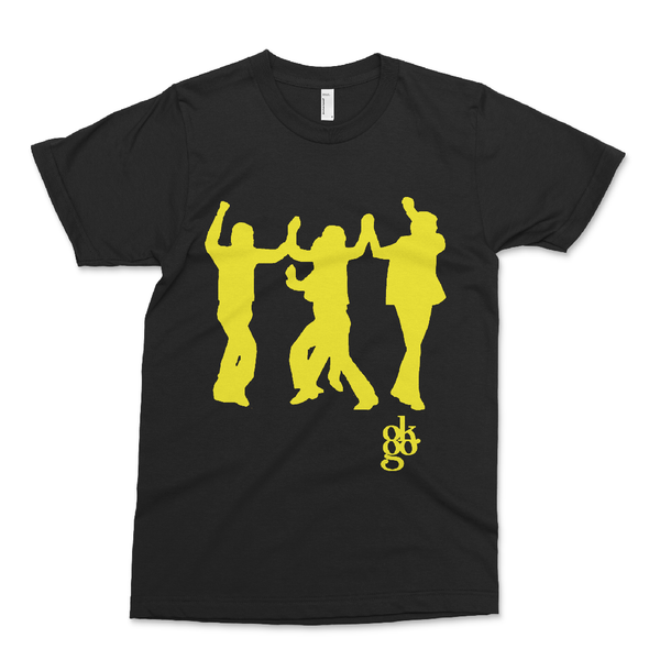 OK Go - A Million Ways Choreo T-Shirt - Black with Yellow