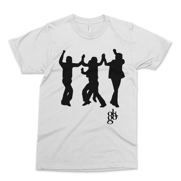 OK Go - A Million Ways Choreo T-Shirt - White with Black (PRESALE OCT 2020)