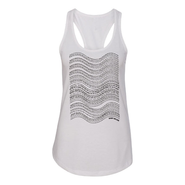 Danny Malone - Soundwave Ladies Tank (White)